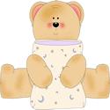 Bear Hugging Pillow