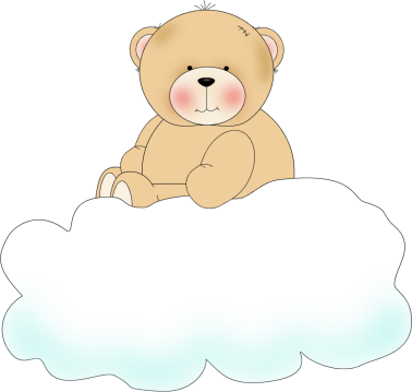 Bear On Clouds