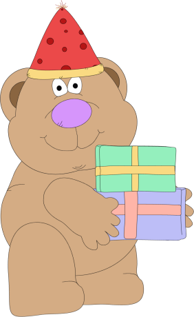 Birthday Gift Bear