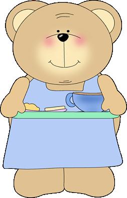 Bear Serving Breakfast
