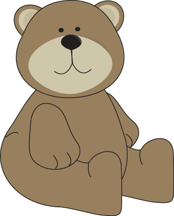 Clip Art Cute Bear Clipart bear clip art images brown sitting down