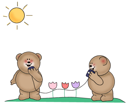 Bears Talking Clip Art - Bears Talking Image