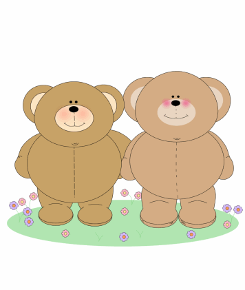 Two Chubby Bears