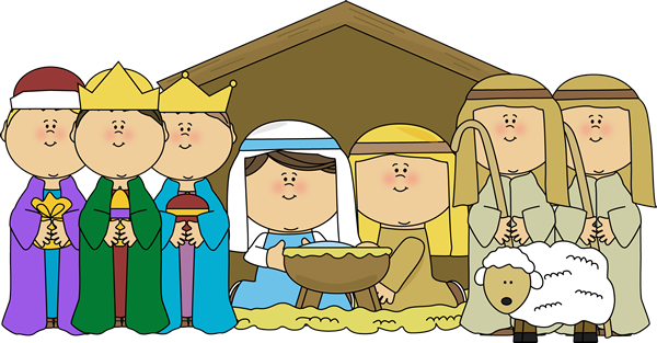 nativity scene with shepherds and wisemen clip art nativity scene rh mycutegraphics com nativity scene clip art free nativity scene clipart black and white