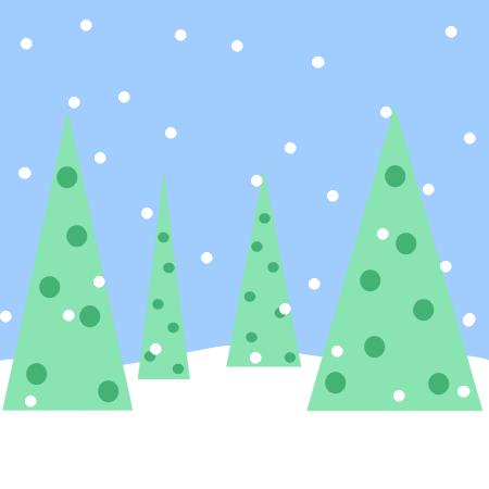 Snowy Scene Clip Art - Snowy Scene Images